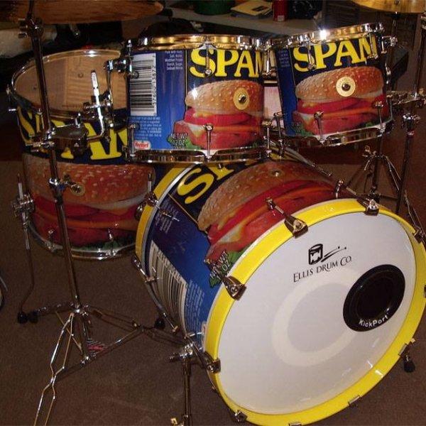 Ellis Spam drum kit.jpg