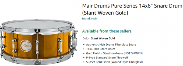Mair snare slant woven gold.png