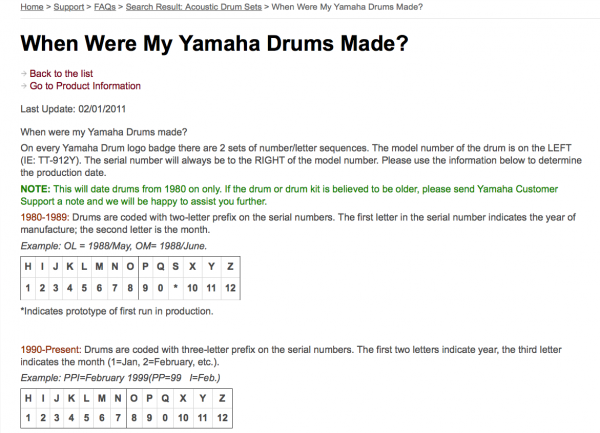 When Were My Yamaha Drums Made.png