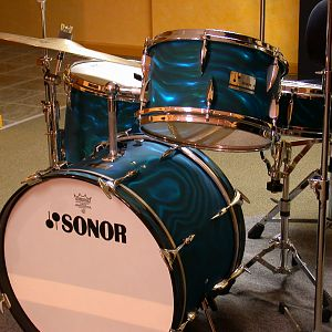 1965 Sonor Teardrop Kit