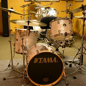 Tama Starclassic White Silk Bop Kit