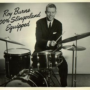 Roy Burns' Slingerland Set