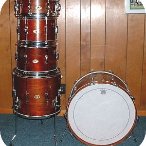 Slingerland Stage Band walnut lacquer
