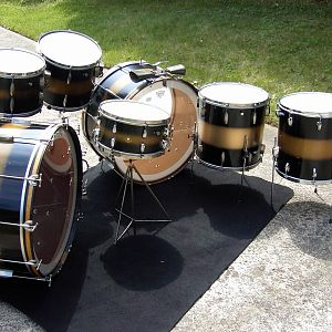 Slingerland 1930's radio king duco kit