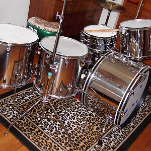 Ludwig Stainless Steel 1978 kit
