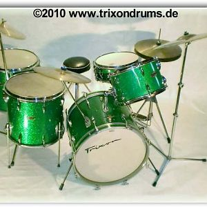 Trixon Big Band 1963/64 in green sparkle