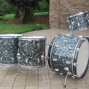 "1964 Ludwig BDP 22"" 13"" 14"" 16"""