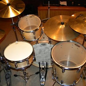 Ludwig Legacy natural maple driver