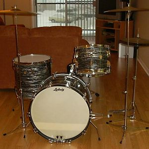 1968 Ludwig Deluxe Classic - OBP