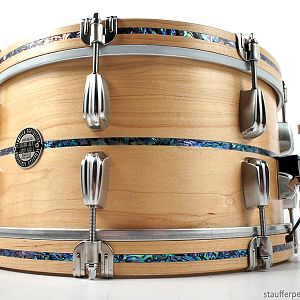 "14""x7"" Solid Shell Series, Paua Abalone Inlays"