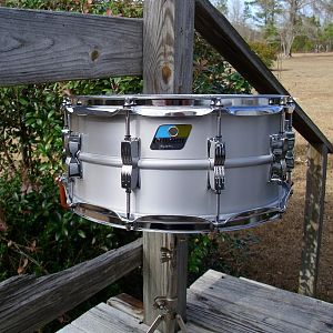 ludwig b/o badge reissue 6.5 acrolite