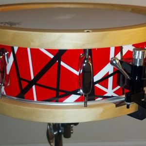 Tama birch snare refurbished