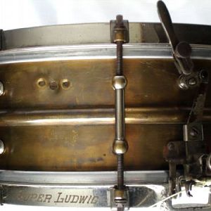 "1920's Super Ludwig ""Brass Beauty"""