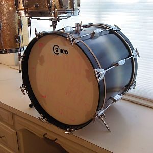Oaklawn Camco 18x14 bass drum