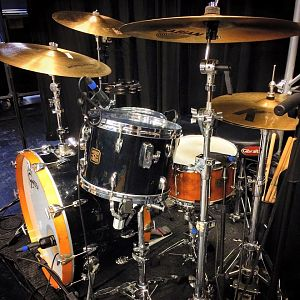 80s Gretsch Drums - 180 Drums Nitron Black