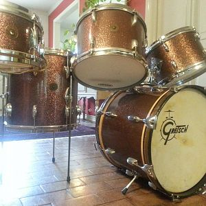 "A 1963 Gretsch RB ""SPECIAL ORDER"" bop kit..."