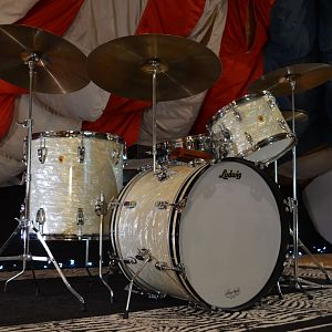 1967 Ludwig WMP Downbeat Drum Set
