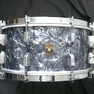 Circa 1940 Leedy Broadway Parallel Swingster 7x14 snare