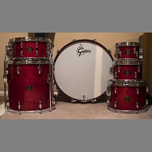 "1981 6pc. Gretsch ""Drop G"" Custom Maple Rosewood"