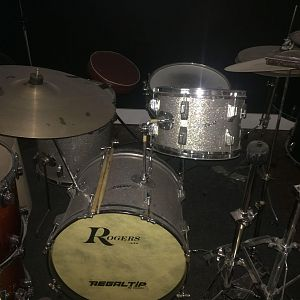 J.D. Calato's old A$$ drum kit