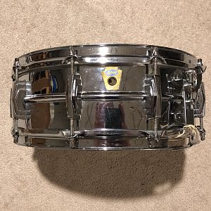 Ludwig Transition Badge Super-Ludwig COB snare