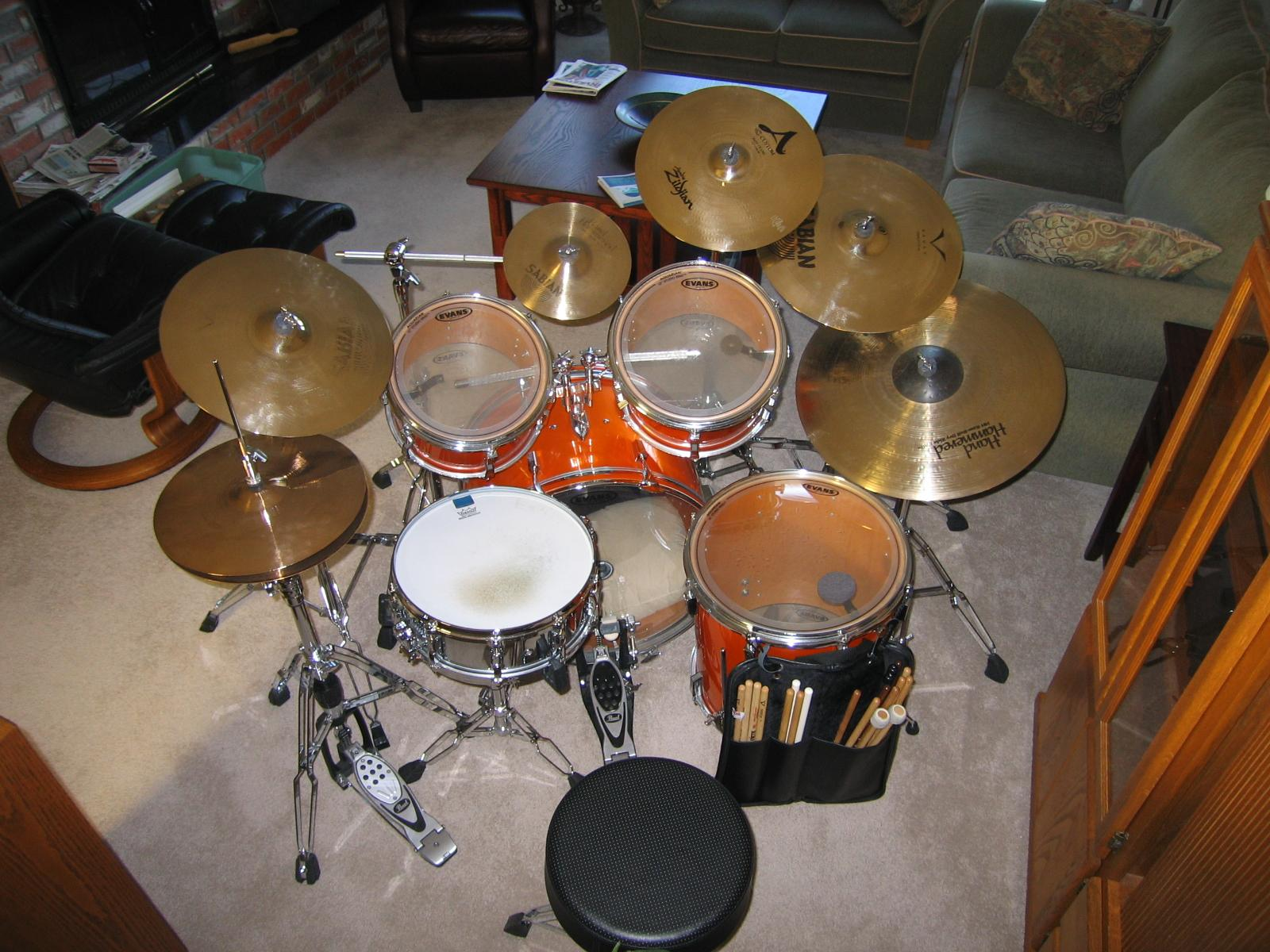 Optional of my Sonor kit