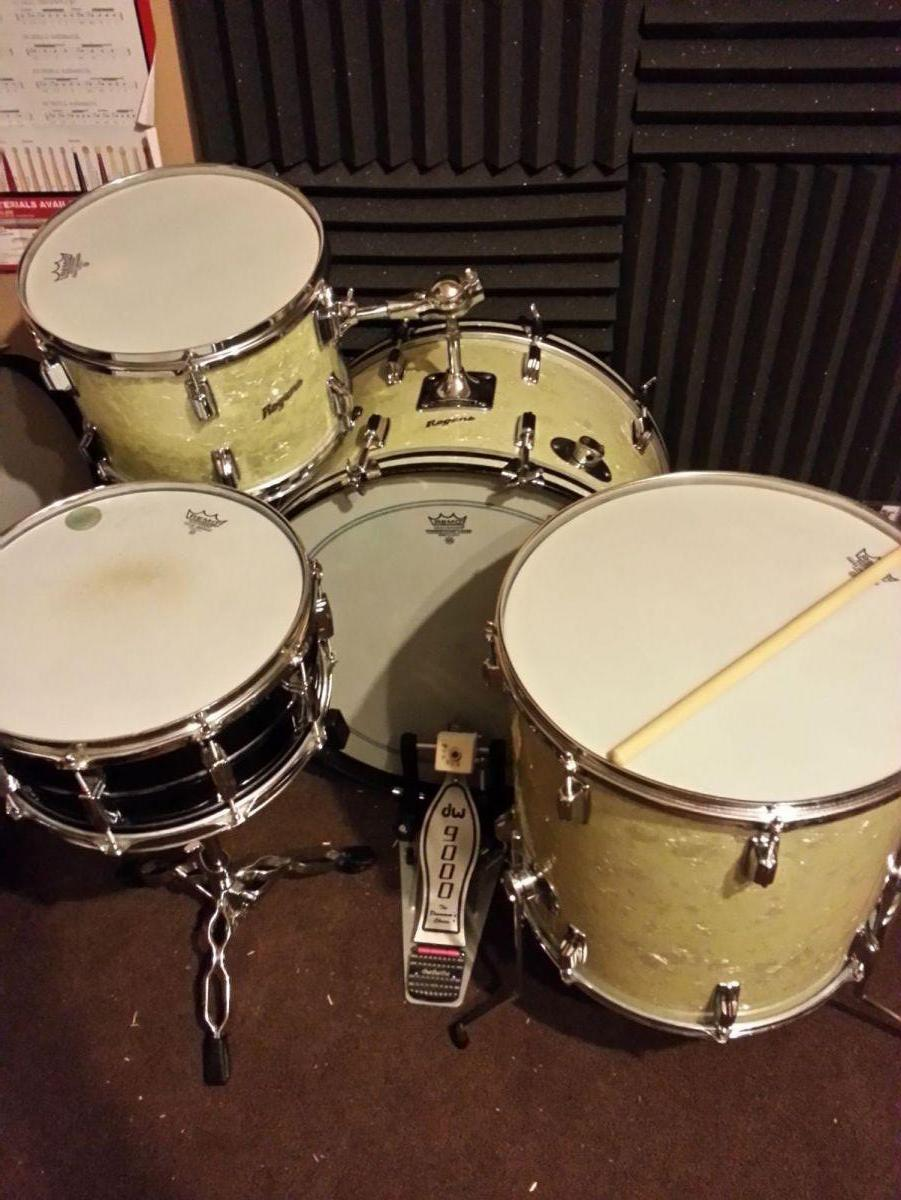 Rogers Kit and Black Beauty Snare - 180 Drums